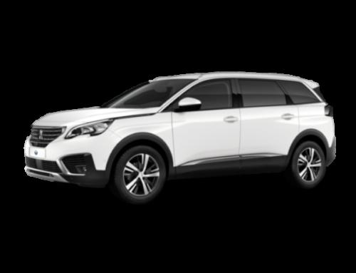 Peugeot 5008, un coche familiar y automático para tus vacaciones en Calpe