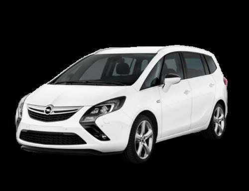 Opel Zafira, el automóvil de alquiler ideal para viajar en grupo