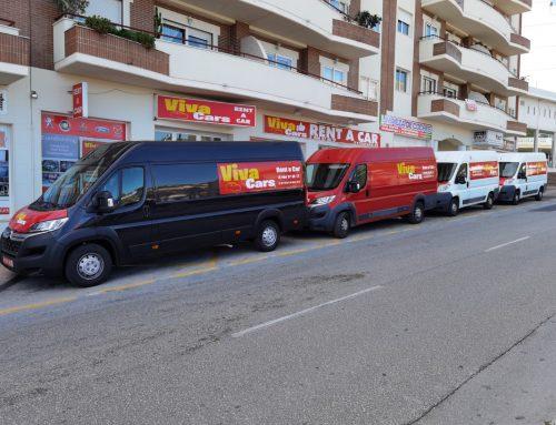 Alquiler de furgonetas en Calpe con Viva Cars