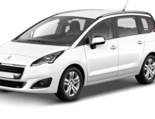 Alquila un Peugeot 5008, de 7 plazas, si viajas en familia. Te lo entregamos en Benidorm